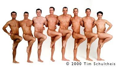 Naked boys, Tim Schultheis