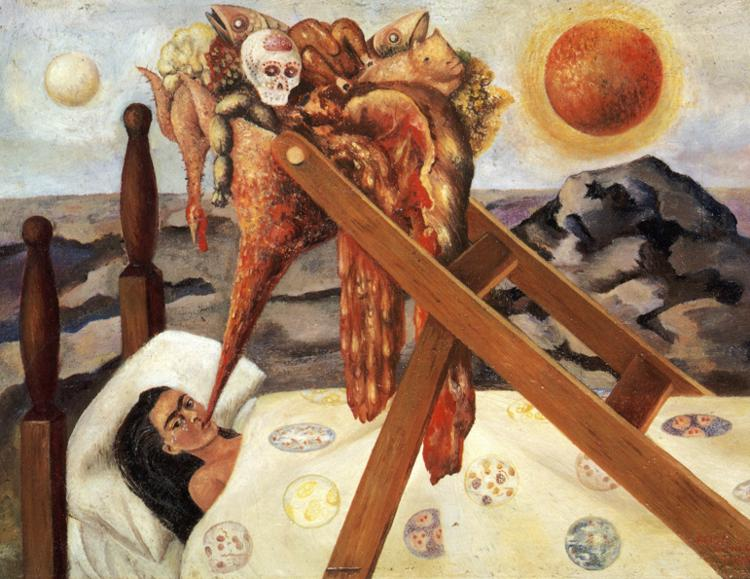 Frida Kahlo Without hope, 1943